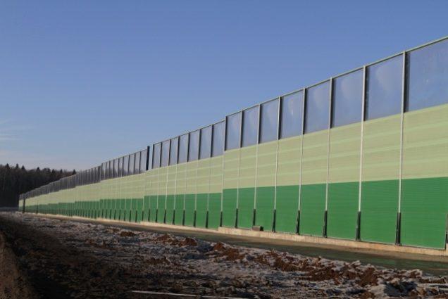 Шумозащитные экраны Казахстан