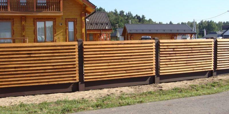 Забор жалюзи Караганды