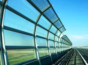 Шумозащитные акустические экраны в Казахстане