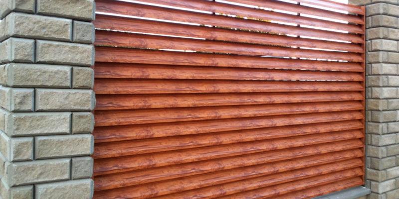 Забор жалюзи под дерево Атырау