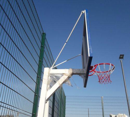 Установка баскетбольной стойки