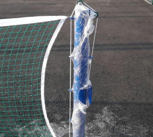 Установка теннисной стойки