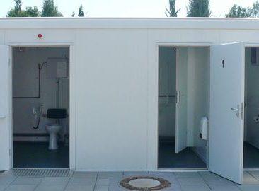 Уличные автономные модульные общественные туалеты