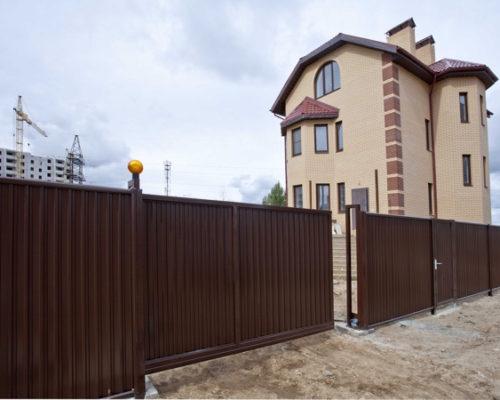Установить забор в Астане