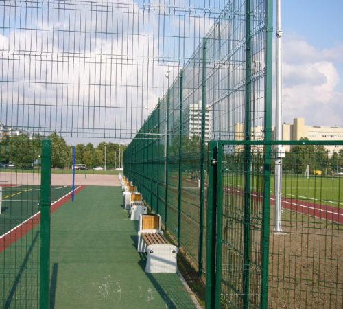 Ограждение футбольной площадки