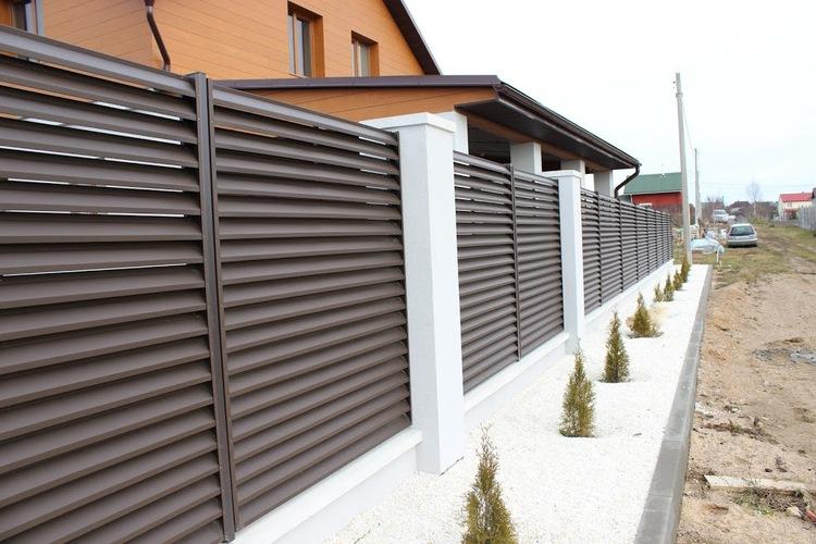 Забор - жалюзи в Казахстане