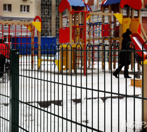 Ограждение дворовой площадки Актобе