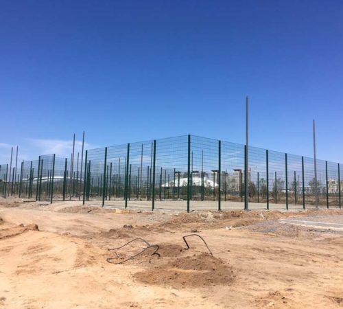 Ограждение универсальной площадки Ботанический сад г. Астана